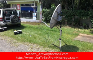 Satellite TV in Nicaragua